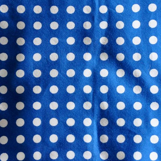 小型犬用の犬服|水玉|ブルー&ホワイト