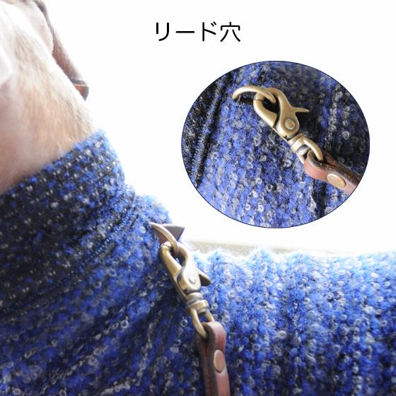 イタグレ・ウィペット犬服|ロンパース|ループニット|選べる3カラー|リード穴