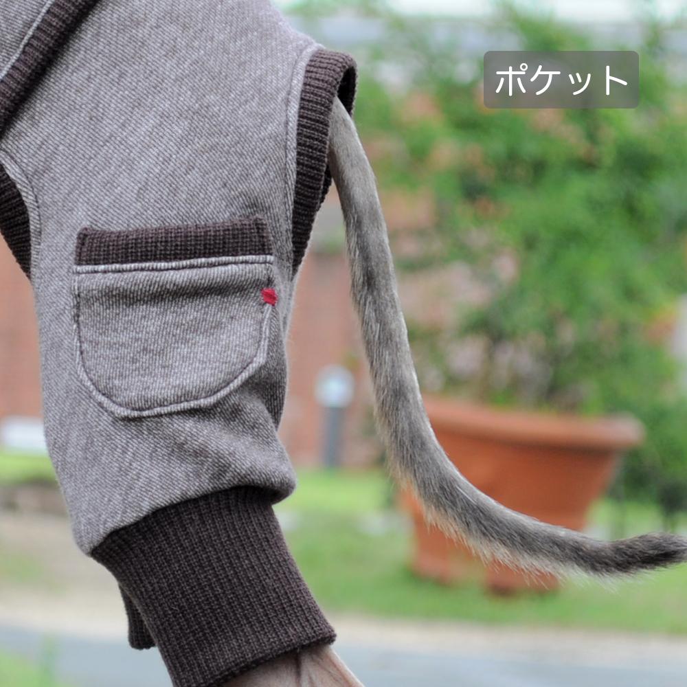 犬服|トレーナー|選べる3タイプ×4カラー(ポピーレッド/桜色/イタグレグレイ/栗色)