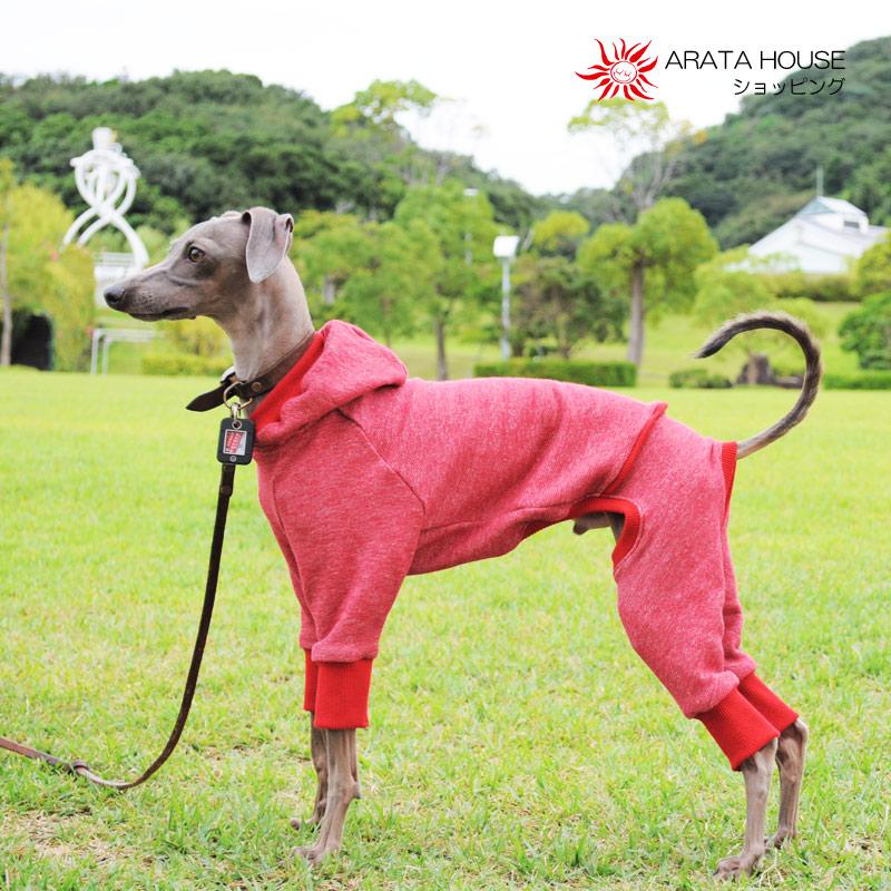 犬服|トレーナー|ベーシックタイプ|選べる4タイプ×5カラー(ポピーレッド/桜色/イタグレグレイ/栗色/ロイヤルブルー)
