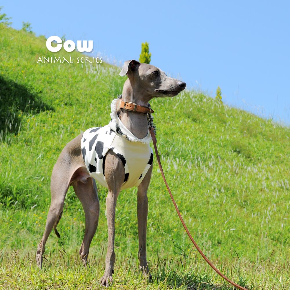 犬服|アニマルシリーズ|選べる2タイプ×3カラー(キリン/ゼブラ/ウシ)