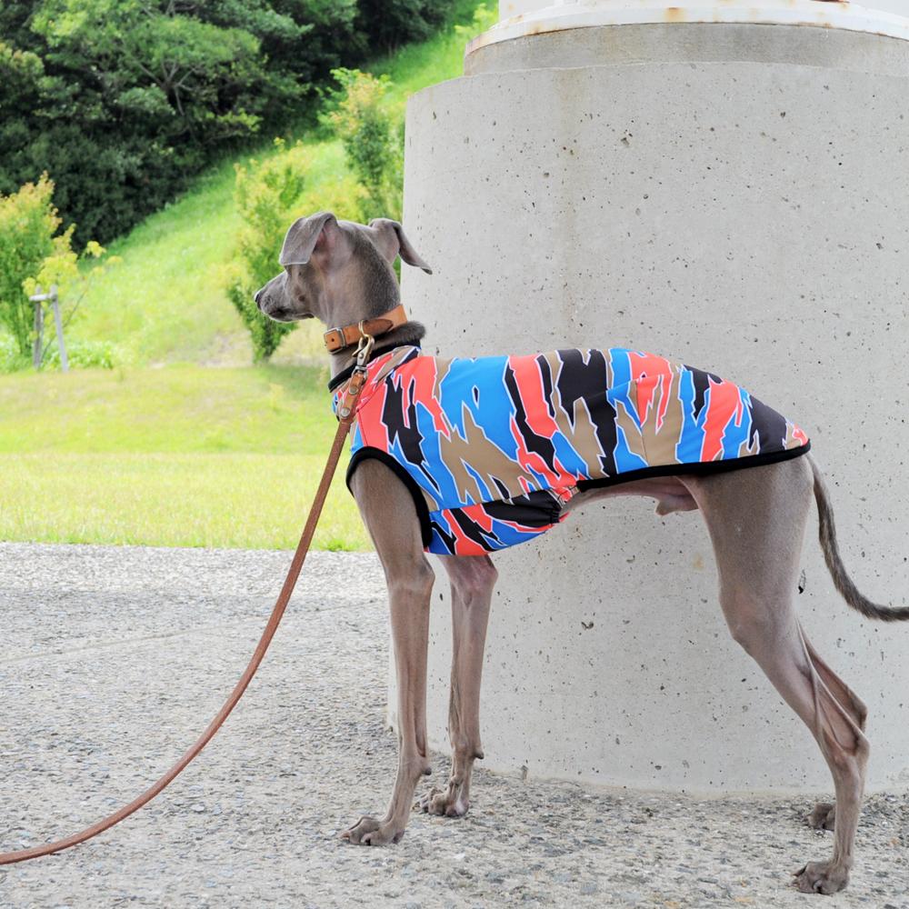 犬服|スポーツニットプリント|選べる3タイプ×3カラー