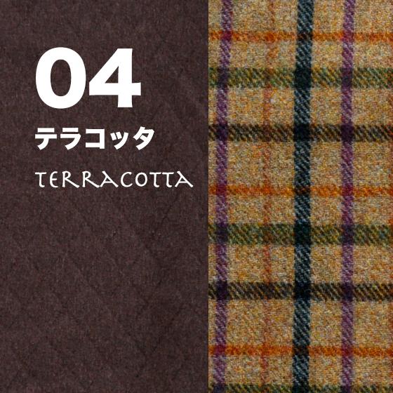 犬服|ヨーロピアンテイストのツィードチェック(英国羊毛使用)|選べる2タイプ×4カラー(たんぽぽ色/グラスグリーン/紺青色/テラコッタ)