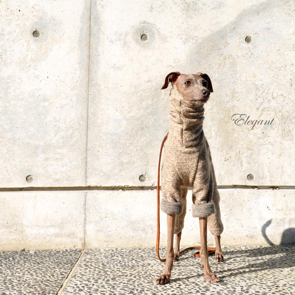 犬服|エレガントなイタリア製ニットジャガード|選べる3タイプ×3カラー(ハニースィート/ペールモーベット/クラーレット)