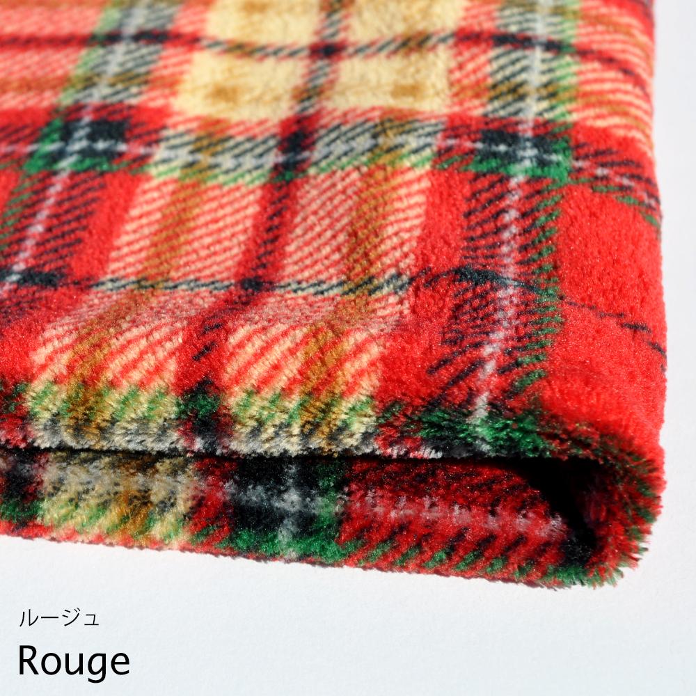 寝袋&カフェマット|いつでもどこでも、ぬくぬく寝袋|タータンチェックボア生地|選べる3カラー