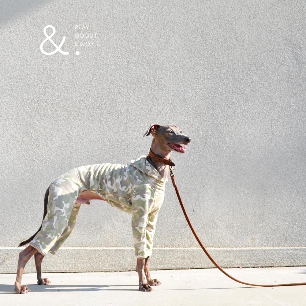 犬服|&.|無地×いろいろ選べる裏地「2WAYカスタマイズ可能」|選べる4タイプ×3カラー(ベージュ/ネイビー/グレイ)