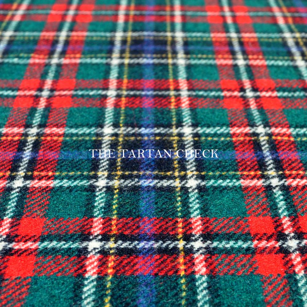 犬服|THE TARTAN CHECK|イギリス製タータンチェック生地|選べる3タイプ×3カラー(ベージュ/ネイビー/グレイ)「丸襟カスタマイズ可能」