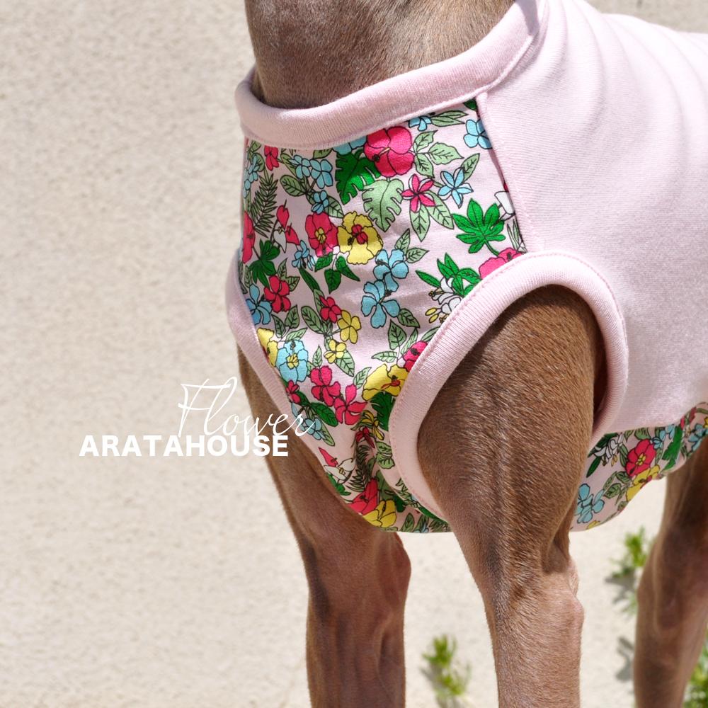犬服|お花|選べる4タイプ