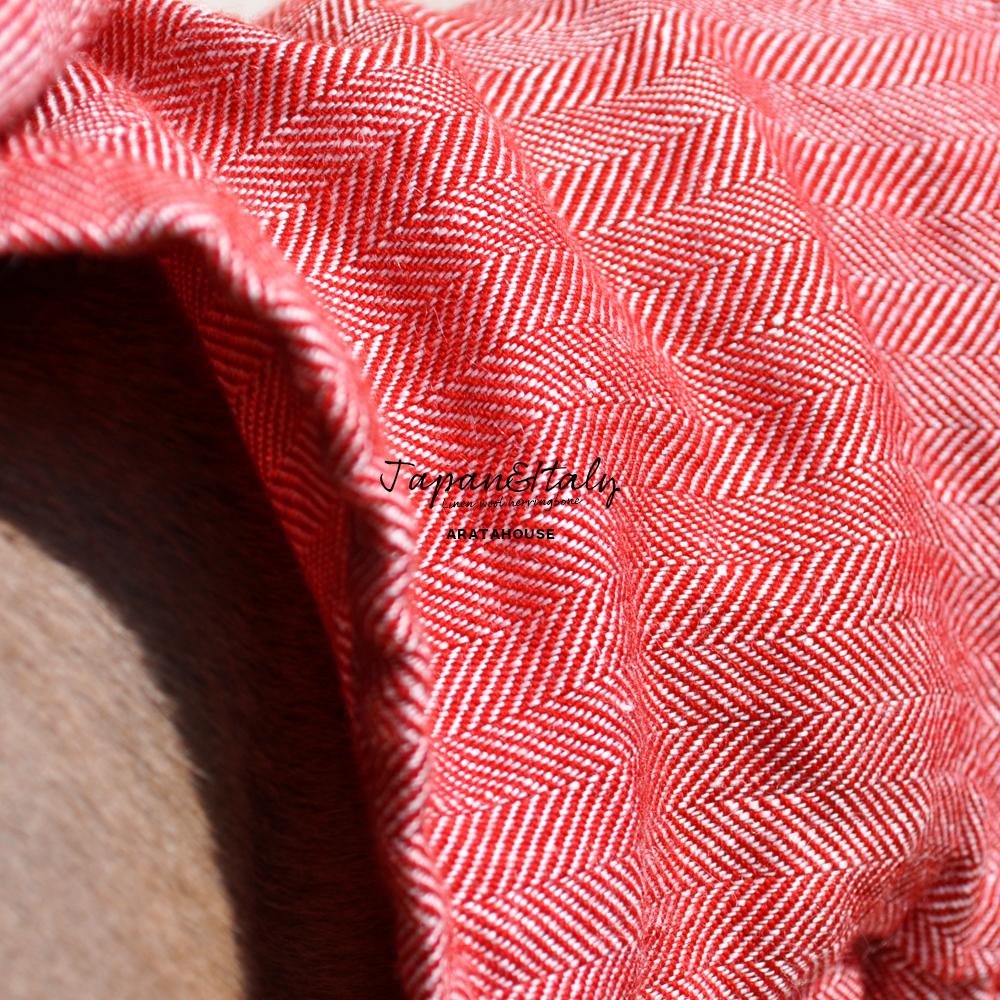 犬服|リネンウールヘリンボーン|イタリア製リネン糸&日本製ウール|選べる3タイプ