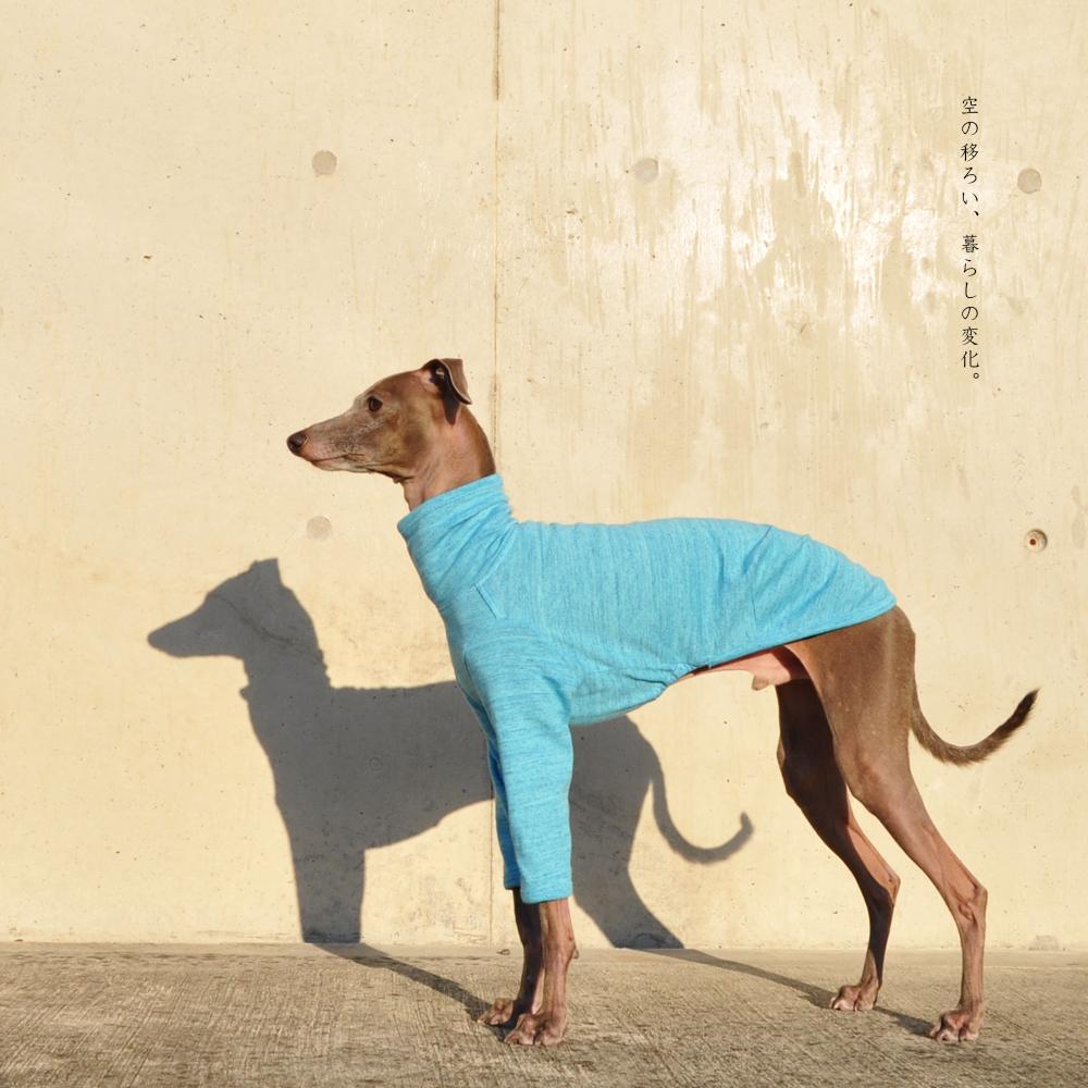犬服|空の移ろい|日本製スペック天竺ニット|選べる4タイプ×9カラー