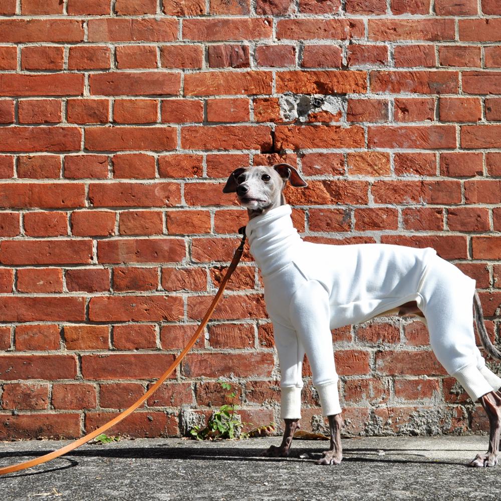 犬服|軽くて柔らかくて暖かい|裏起毛ムートンジャージー(保温性)|選べる4タイプ×4カラー(ホワイト/杢グレイ/デニムネイビー/ツイードグレイ)