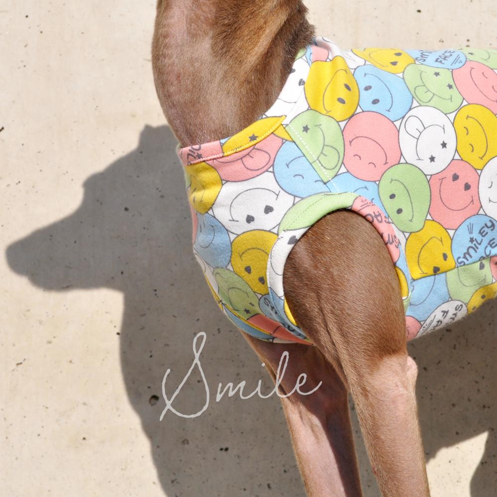 犬服|にこちゃん|スムースニット|選べる4タイプ